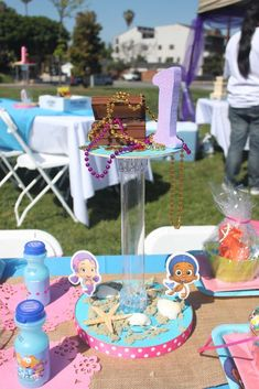 Bubble Guppies Birthday Party Ideas | Photo 1 of 16 | Catch My Party
