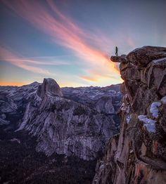 Glacier Point, Yosemite Valley, CA