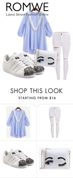 """Romwe contest"" by mercija ❤ liked on Polyvore featuring adidas Originals"