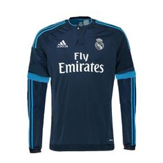 d5673c0f05 Real Madrid 2015 16 3RD Away Men Long Sleeve Shirt Personalized Soccer  Jerseys