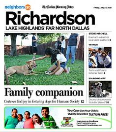07/27 Pets and Their People: Need advice on fostering pets? Ask the Cortez Family of Richardson.