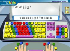 keyboarding etc.:The Top 5 Free Typing Tutors: Exciting Ways to Learn and Practice Keyboarding Free Typing Tutor, Typing Skills, Typing Lesson, Typing Games, Computer Class, Computer Technology, Computer Literacy, Computer Teacher, Assistive Technology
