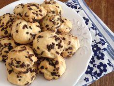 Biscuit Bar, Biscuit Cookies, Yummy Cookies, Cake Cookies, Greek Desserts, Greek Recipes, Sweets Recipes, Cookie Recipes, Sweets Cake