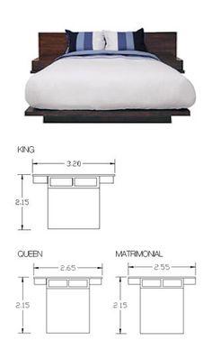 Cabecera, burós y base de cama perfectos! La base es muy delgadita para que la cama no sea alta.
