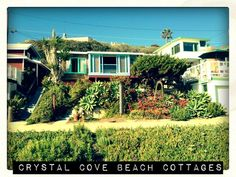 Crystal Cove Beach Cottages via @gogobot