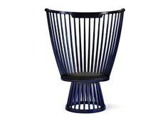 Tom Dixon Fan Chair Indigo