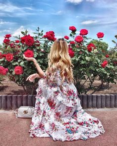 Getting lost in the secret garden Pict via Shop the dress in our bio… Girl Photography, Amazing Photography, Spring Aesthetic, Princess Aesthetic, Insta Photo Ideas, Looks Chic, Girls Dpz, Aesthetic Pictures, Photo Poses