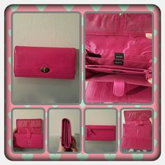👛 EUC Pink Clutch Wallet By Mundi 👛 ❌FINAL❌ This is a pink wallet by mundi that has so many card slots and pockets very pretty and spacious in excellent condition used only a few times 🚫 NO TRADES 🚫 NO PayPal 🚫 PRICE IS FINAL 👛 Mundi  Bags Wallets