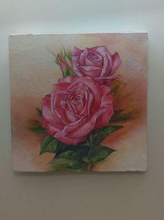 flower- oil color- shivart