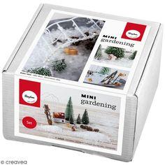 Kit jardin miniature - Hiver - 18 éléments