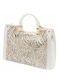That's some gorgeous detail on the front of that bag! #ivankatrump $175