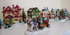 Cobblestone Corners Christmas Village Collection Arrangement/Display Example