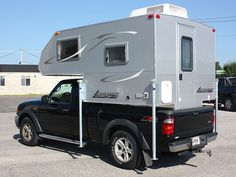 Cirrus 820 Truck Camper On A Short Bed Truck Http Www
