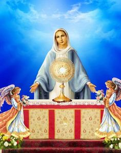 Our Lady of the Blessed Sacrament, Pray For Us