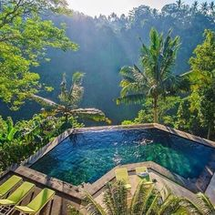 Jungle Pools in Ubud, Bali, Indonesia Photography by Timothy Sykes Oh The Places You'll Go, Places To Travel, Travel Destinations, Holiday Destinations, Florida Hotels, Hotels And Resorts, Ubud Hotels, Florida Travel, Dream Vacations