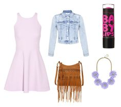 """Cute night outfit! By: @AmiraisQUEEN"" by amiraisqueen ❤ liked on Polyvore"