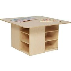 Wood Designs Cubbie Table   Kids Think Itu0027s Fun, And Adults Think Itu0027s A  Great Value. The Wood Designs Cubbie Table Provides Both An Inviting  Surface For ...