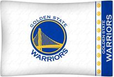 fa81f05ef Golden State Warriors NBA Standard Logo Pillowcase  SportsCoverage  GoldenStateWarriors  Warrior Paint