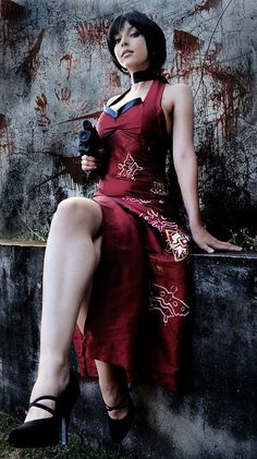 Shermie Cosplay as Ada Wong from Resident Evil