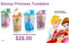 Look at the Princess Cups!   Order yours now for your Princess at home!