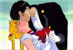 Sailor Moon Fan Cel Kiss by midnitedying.deviantart.com on @deviantART