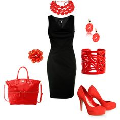 Night Out With The Girls, created by christen426 on Polyvore