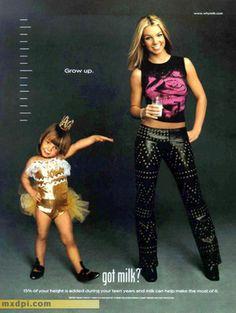 Britney Spears Got Milk ad!