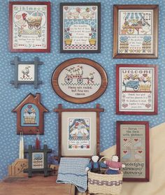 Country Goose Caboose Jeremiah Junction Cross Stitch Pattern