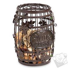 Wine Barrel Cork Cage #WineEnthusiast