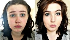Be 4 & After  #Makeup #Makeover