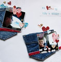 Scrapbook Page with multiple cluster foundation by Christy Strickler | GetItScrapped.com/blog
