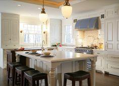 Kitchen Island. Great Idea for Kitchen Island. #Kitchen #Island