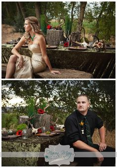 The Hunters Wife / rustic wedding / country wedding / duck dynasty inspired wedding / Fearon May Events  / Xsight photography