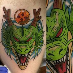 dragonball-az anime tattoos
