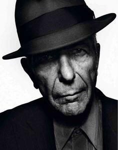 Leonard Cohen, photo: Chris Woods