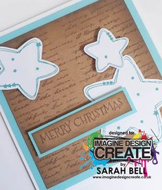 Designed by Sarah Bell using Nesting Stars stamps by Imagine Design Create