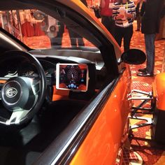 Elio @ CES 2015 showing the infinite Skyz option mounted in place. Elio Motors, Infinite, Planes, Trains, Boats, Transportation, Automobile, Bike, Car