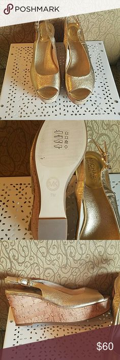 Michael Kors Shoes New with out tags wedge shoes super cute Michael Kors Shoes Wedges