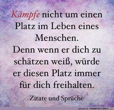jpg'- Eine von 16034 Dateien in der Ka. - New Ideas German Quotes, Lifestyle Quotes, Mind Tricks, Feeling Sad, Statements, My Mood, Wise Quotes, True Words, Better Life