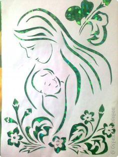 Картина, панно Вырезание: К дню защиты детей!  Бумага День защиты детей. Фото 1