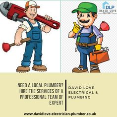 Are you get tired of your plumbing problems? Don't worry we are David Love Electrical & Plumbing, you can hire the professionals for your plumbing problem in Edinburgh, Dalkeith, Midlothian, and surrounding areas. We offer a fair and transparent pricing policy across our services and our electricians and plumbers are available 24 hours. Bathroom Fitters, Hours Of Service, Local Plumbers, Bathroom Installation, Right To Privacy, Plumbing Problems, Emergency Call, Dress For Success, Life Savers