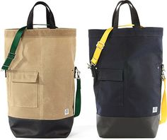 Chester Wallace Waxed Canvas Tote Bag