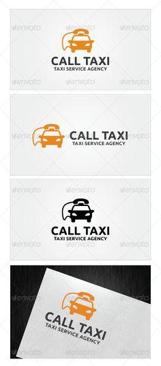 Call Taxi Logo Template #graphicriver