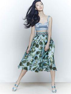 Tian Yi by Zack Zhang for Vogue China