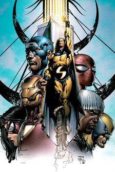 Elseworld's Finest: new avengers.....////