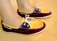 homemade Shocker boat shoes #WATCHUS