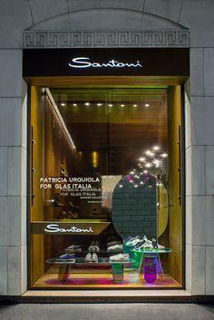 Santoni Window #SalonedelMobile15 #MDW15 #isalone