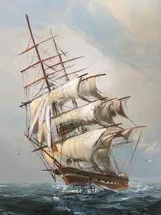 Tall Ship closeup