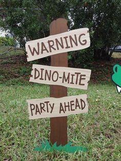 Dinosaur Birthday Party Decoration Set by CSCuteCrafts on Etsy