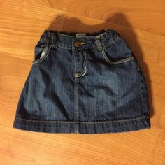 Girls Jean Skirt Good Condition Old Navy Skirts
